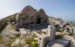 A House In The Ruins of Thera