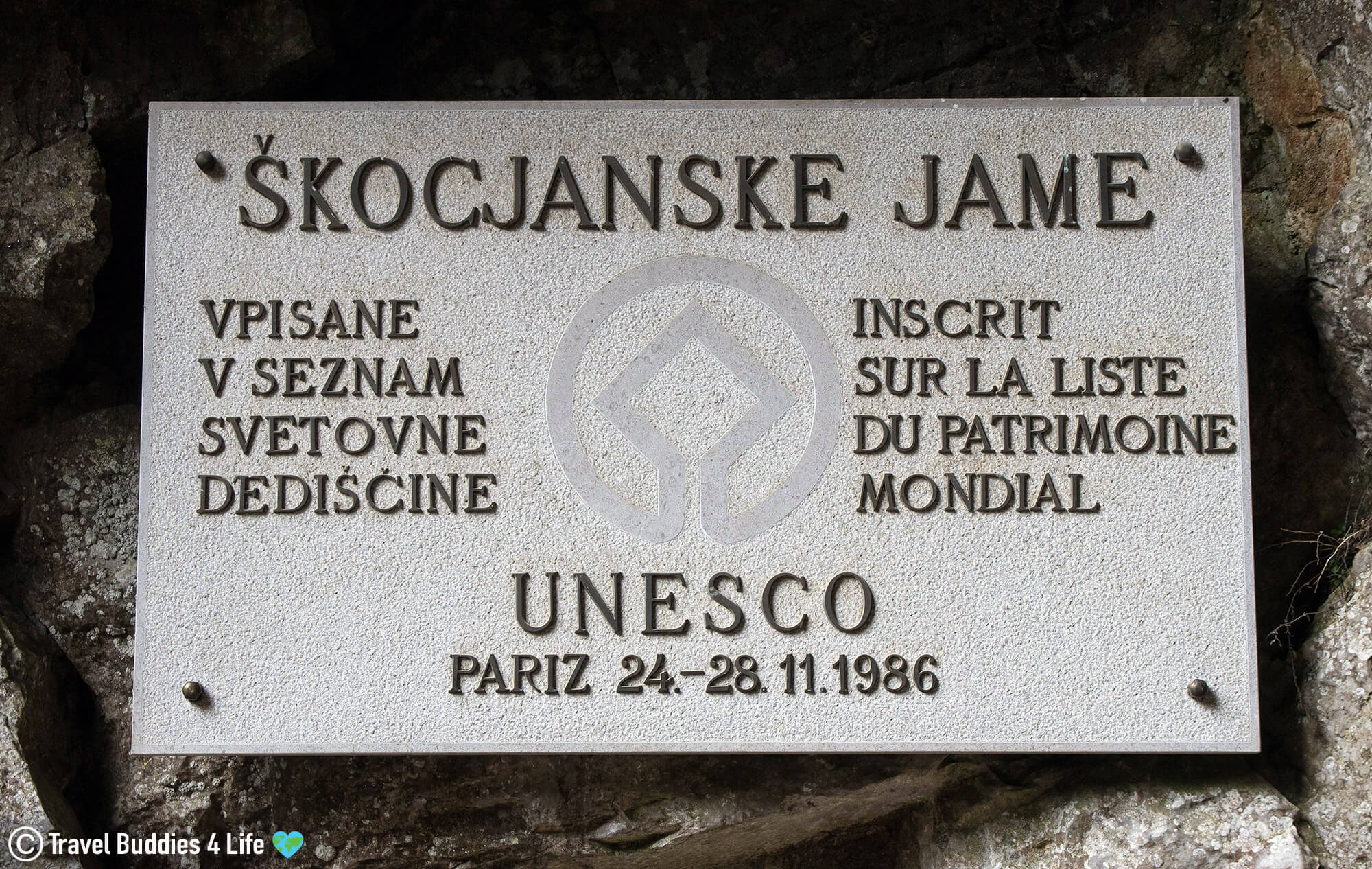 A Large Caving System in the East of Europe called the Skocjanske Jame Caves in Slovenia