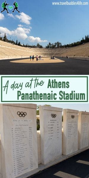 A Day at an Olympic Stadium in Athens