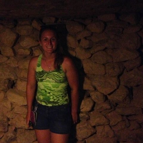 Ali and a Wall of Rocks