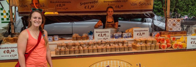 Ali and the Stroopwafel Stand