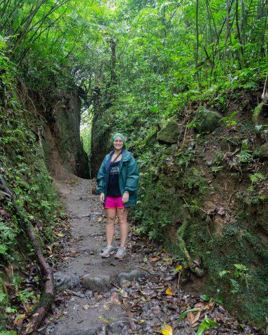 Ali on the Muddy Trail