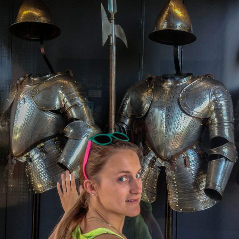 Ali with the Suits of Armour