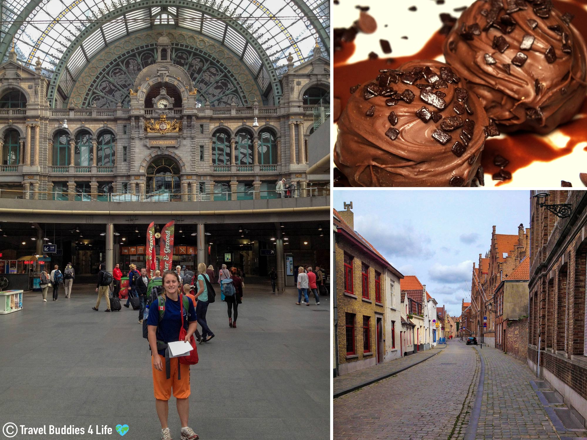 Arriving By Train In Bruge, Belgium To Explore The City, Europe Travels