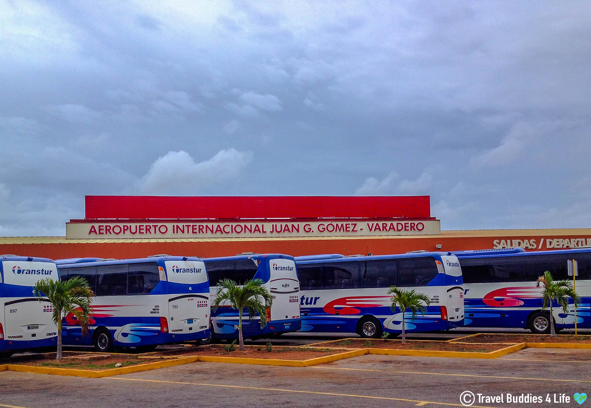 Arriving In Varadero And Taking The Resort Buses To Our Accommodations, Cuba Vacation