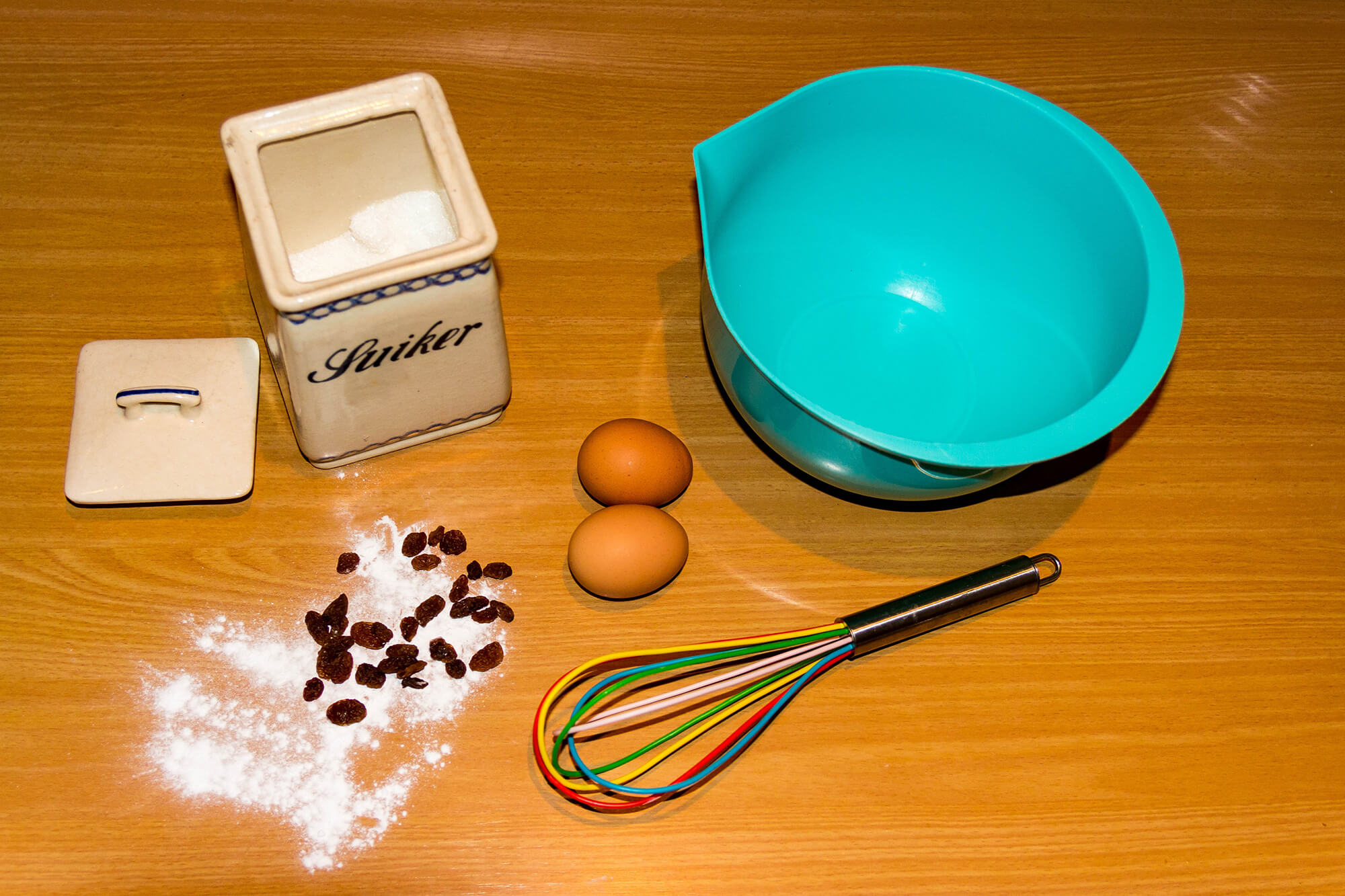 Baking Stuff To Make Oliebollen