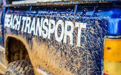 Beach Transport Truck