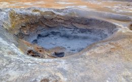 Bubbling Mud Pit