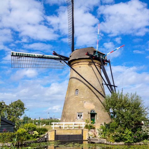 Close up of a Windmill