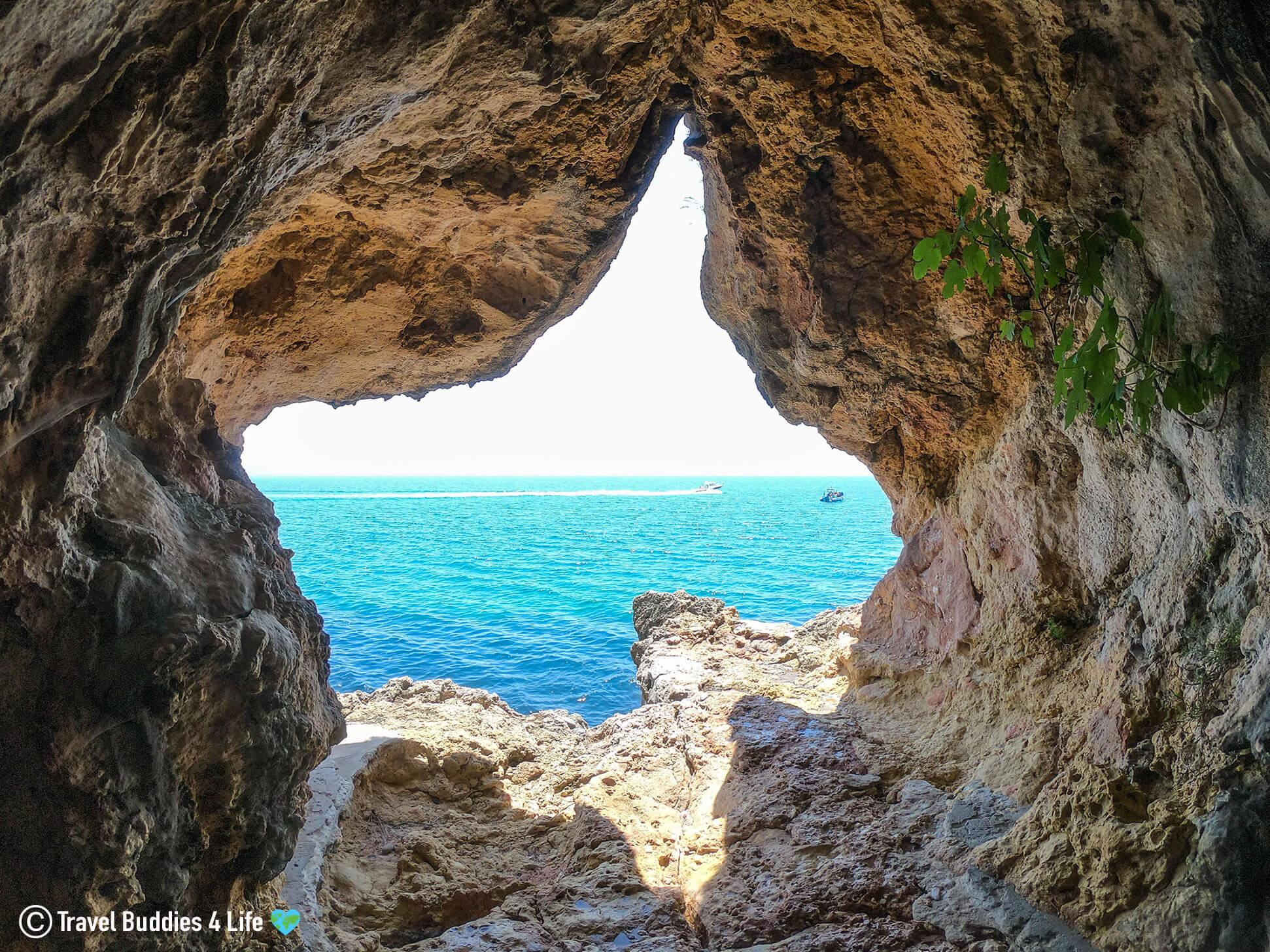 Fig Sea Cave Along the Portuguese Natural Coastline