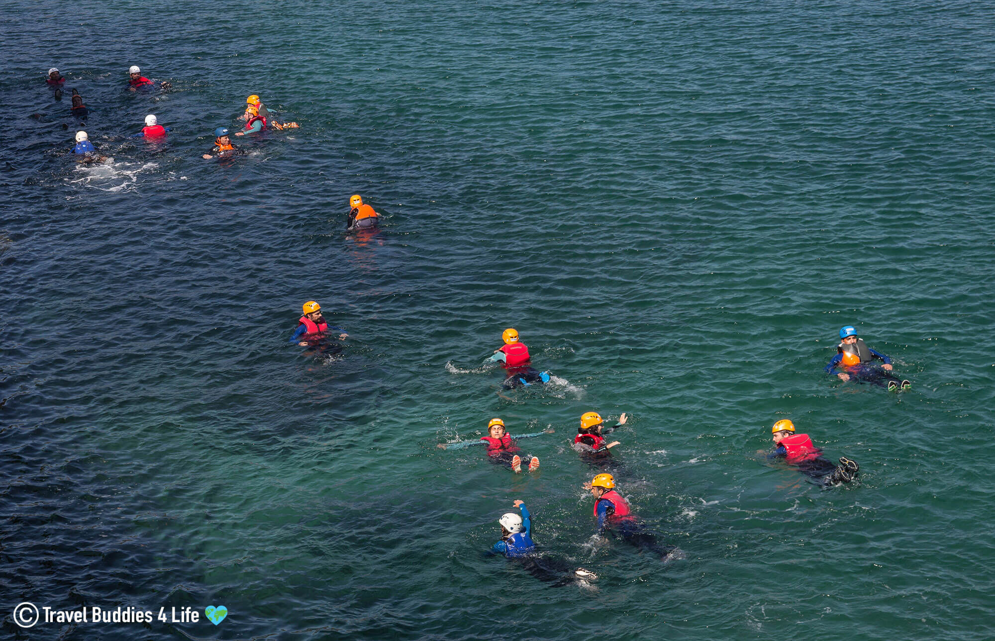 Bobbing Heads in the Ocean off Portugals Famous Arrábida Natural Park
