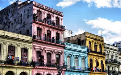 Some Colourful Buildings in Cuba