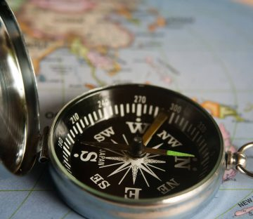 Compass Close Up