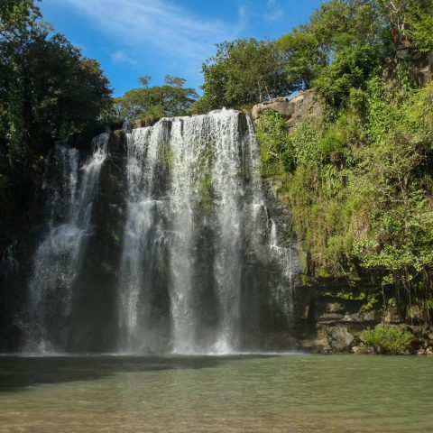 Cortez Waterfall near Playa del Coco, Costa Rica