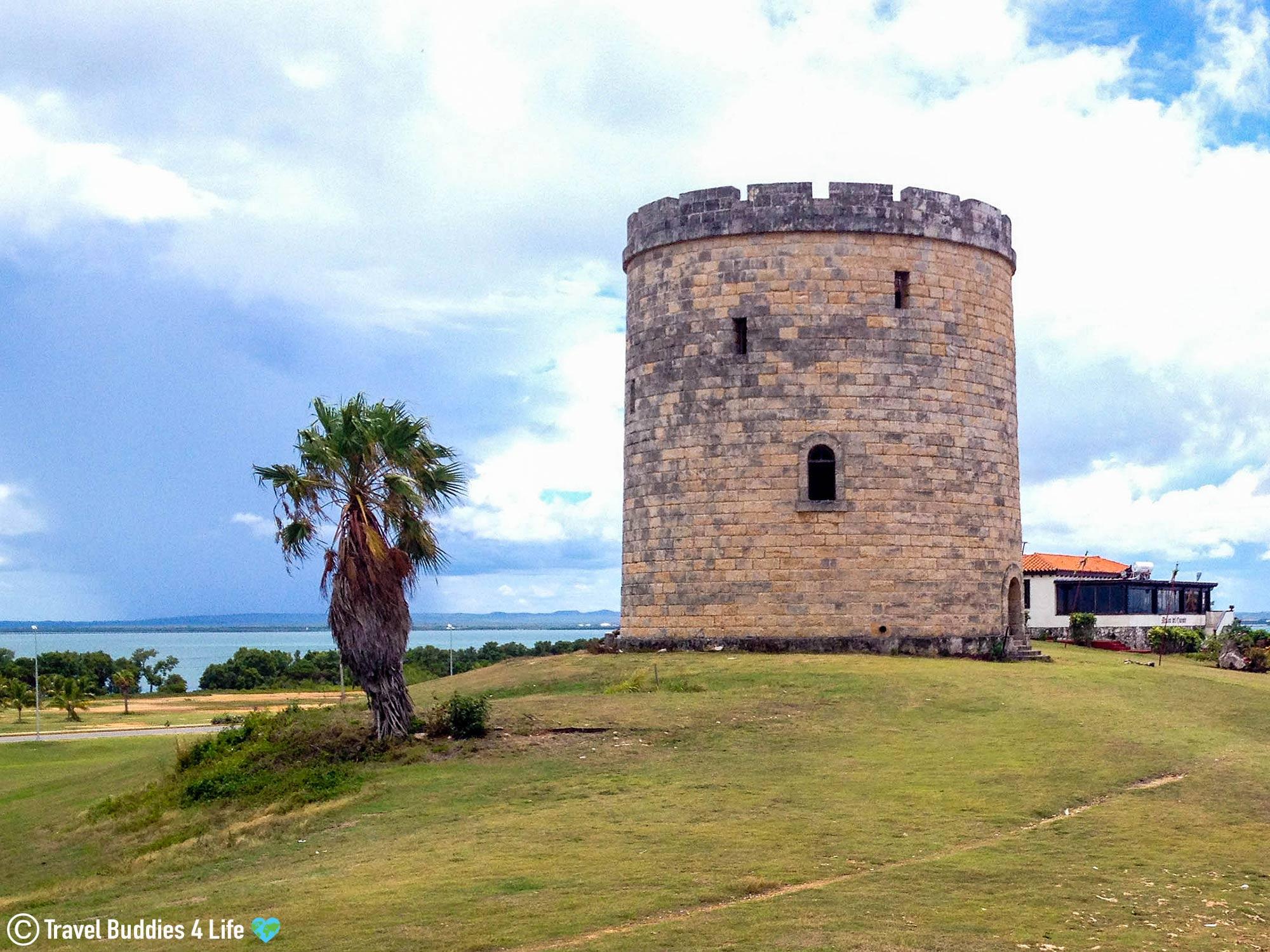 Cuban Castle Tower By The Ocean On The Varadero Peninsula, Cuba