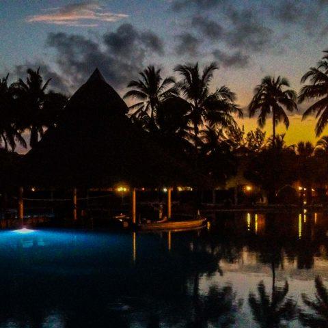 A Cuban Sunset at the Resort