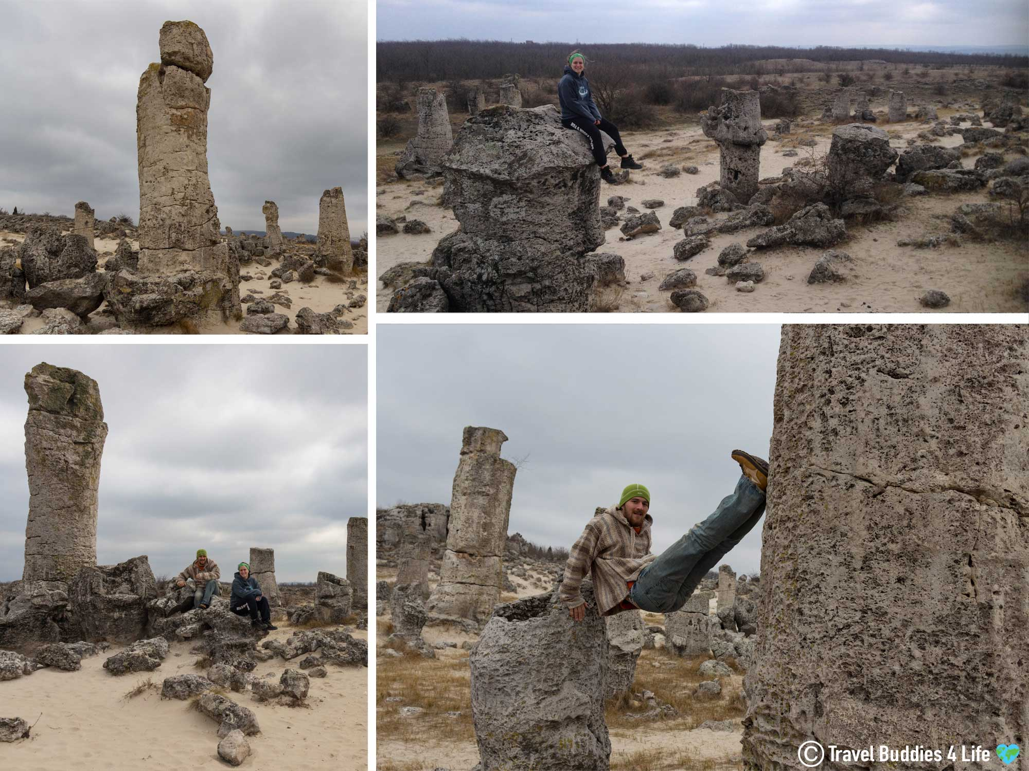 Enjoying The Sites Of The UNESCO World Heritage Rock Forest Site In Bulgaria, Travel Europe