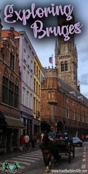 Exploring Bruges Belgium Pinterest