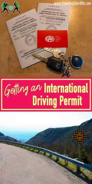 Getting an International Driving Permit Pinterest