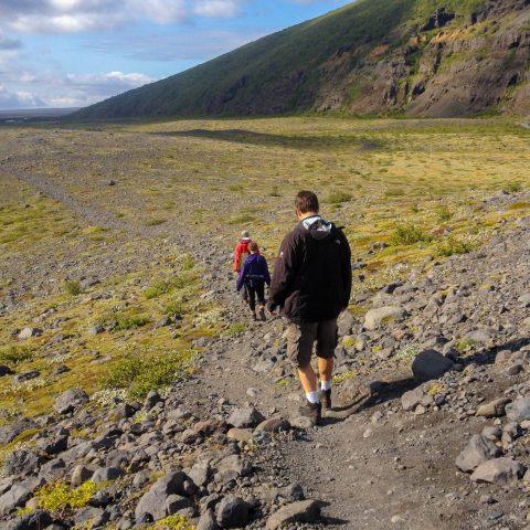 A Glacier Hike in Iceland