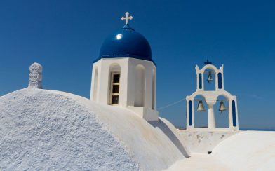 Greece - Santorini Church