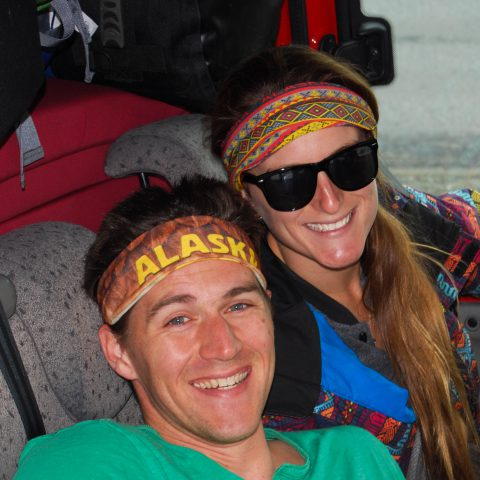 Hippies Ali and Joey in the Kuku Camper in Iceland