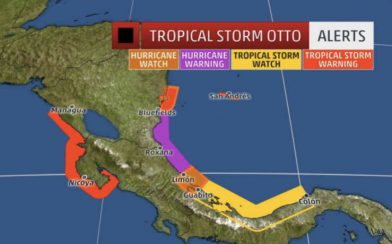 Hurricane Otto News