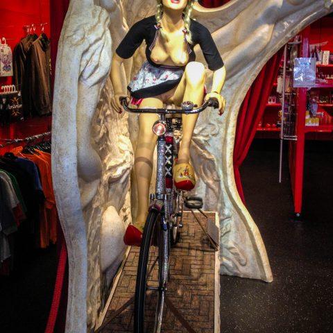 Naked Biker Lady