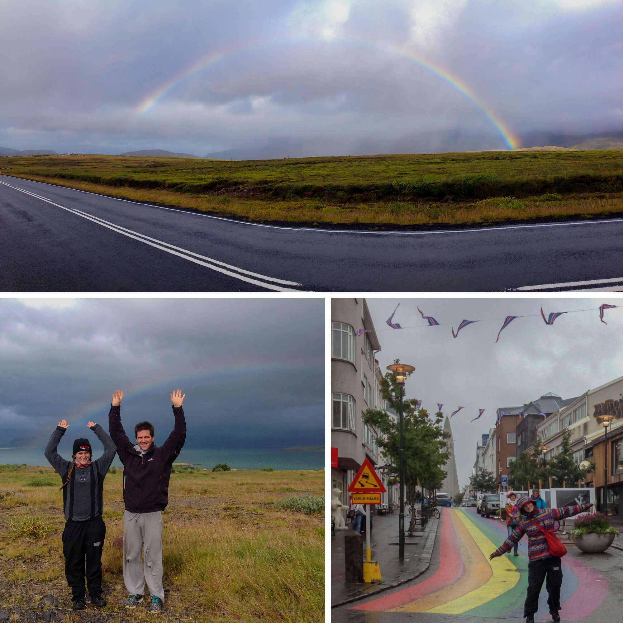 Iceland Rainbow Bucket List Item