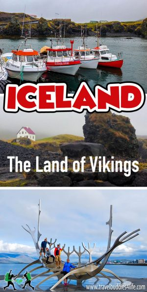 Iceland the Land of Vikings