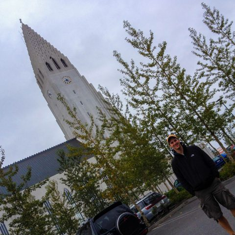 Joey and the Hallgrimskirkja