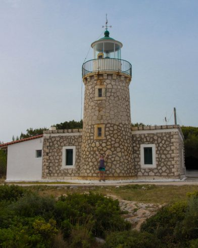 Keri Lighthouse On Zakynthos, Greece