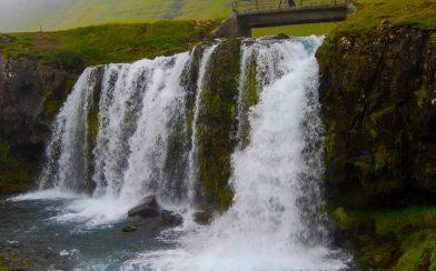 Kerkjufellfoss Waterfall