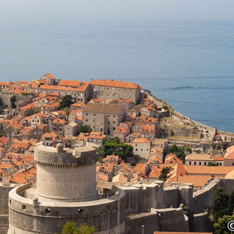 Looking over Kings Landing from the Tower in Dubrovnik with Watermark