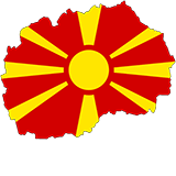 Macedonia Country Flag