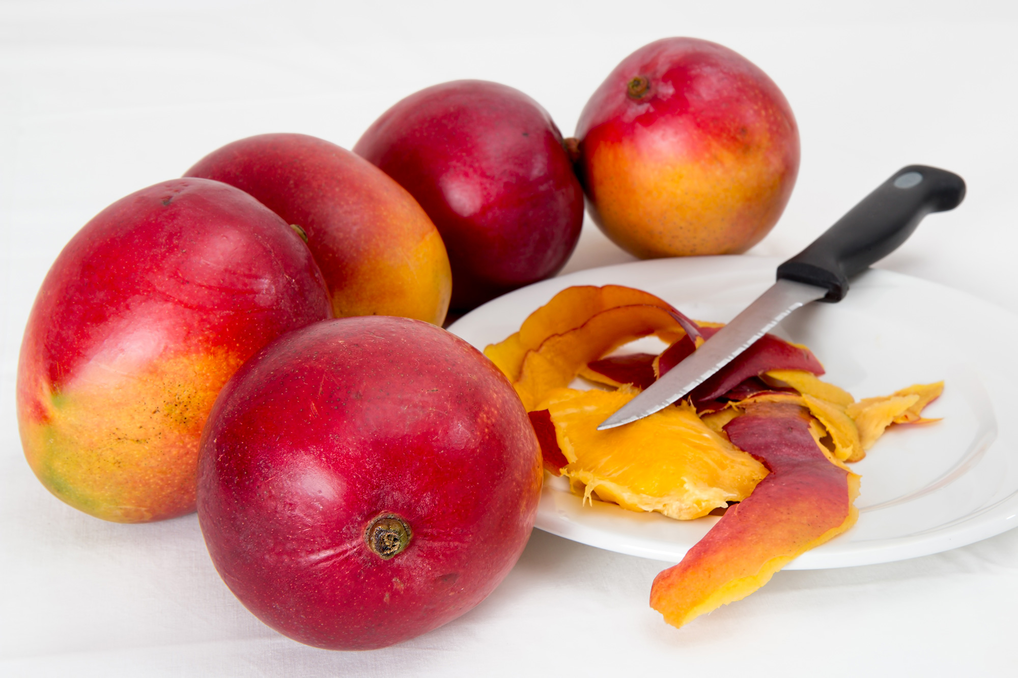 Some Mango's Ready to be Eaten in Cuba