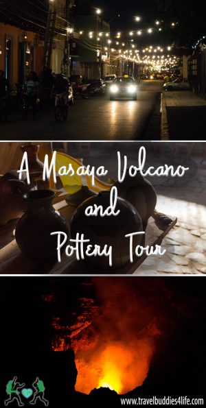 Masaya Volcano and Pottery Tour Pinterest