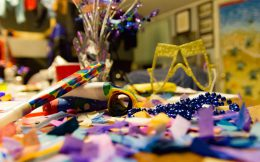 New Years Stuff on the Table