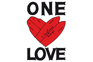 One Love Surf Shop Logo