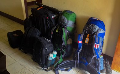 Our Traveling Bags