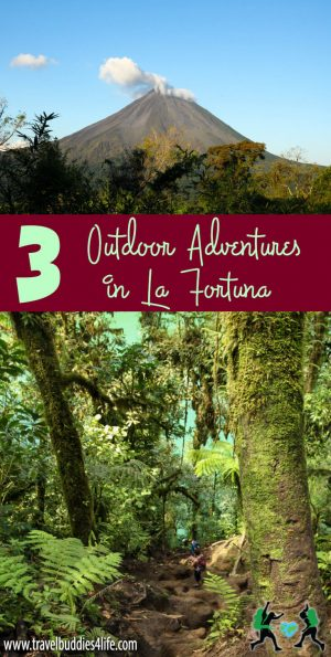 Outdoor Adventures in La Fortuna Pinterest
