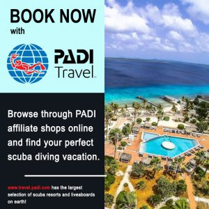 PADI Travel Booking Sidebar Ad Dive Buddies