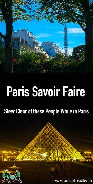 Paris Savoir Faire Pinterest