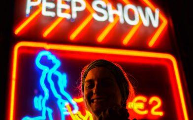 Peep Show Neon Sign