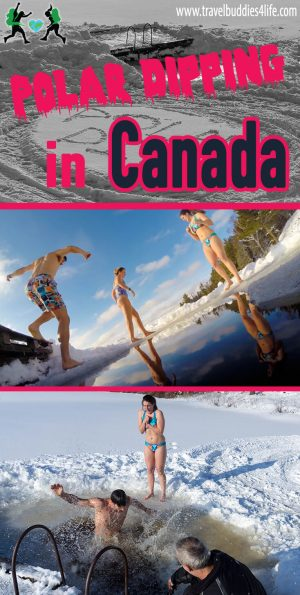 Polar Dipping in Canada Pinterest