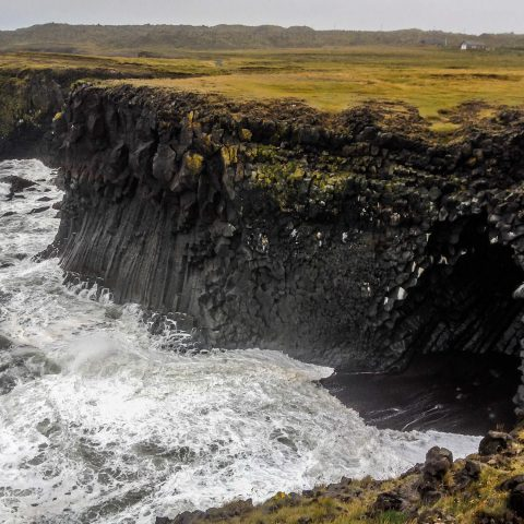 Rugged Iceland Coastline