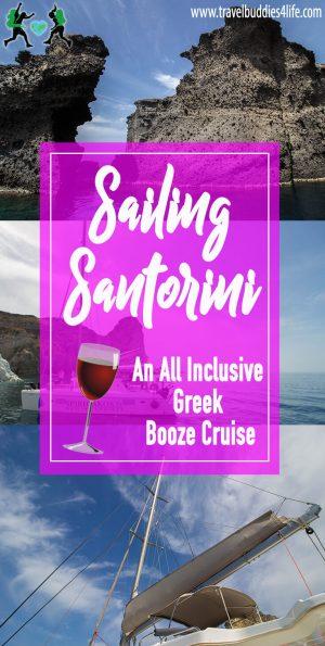 Sailing Santorini Pinterest