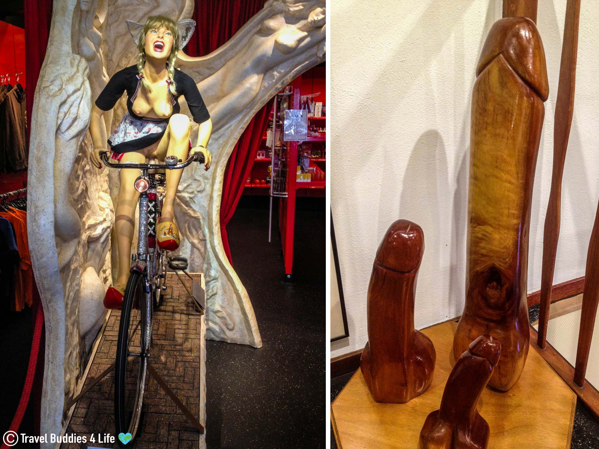 Sexual Items From The Red Light District Of Amsterdam, Netherlands, Europe