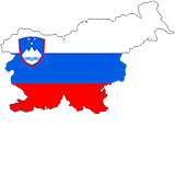 Slovenia Country Flag