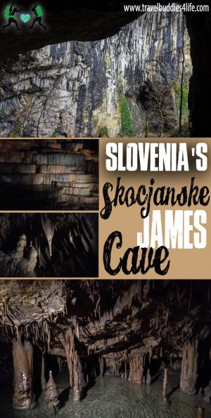 Slovenia's Skocjanske James Cave Pinterest